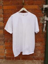 Fruit of the Loom, Gr.L, T-Shirt Super Premium, weiß, 319-82