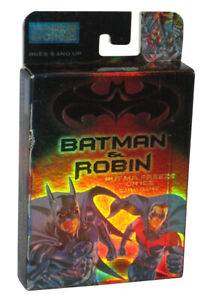 DC Batman & Robin Put Mr. Freeze On Ice (1997) Parker Brothers Card Game