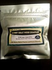 Horny Goat Weed  Complex with Maca, Muira Puama & Panax Ginseng 50 caps 900mg