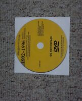 1993 Ford Ranger Pickup Truck Shop Service Repair Manual DVD Splash STX XL XLT