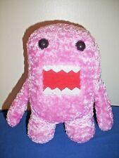 """7"""" Pink Domo Kun Plush Japanese Nanco Velveteen Stuffed Toy Monster"""
