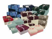 Luxury Gift Box Wedding Party Occasion Favour Set of Boxes Storage Keepsake