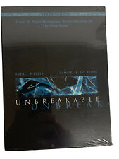 Unbreakable (Dvd, 2001, 2-Disc Set, Vista Series) Bruce Willis, Samuel Jackson