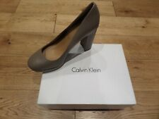 Calvin Klein Womens Heels Winter Taupe UK 7