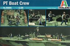 Italeri 1/35 5606 WWII US Navy PT Bost Crew (10 Figures)