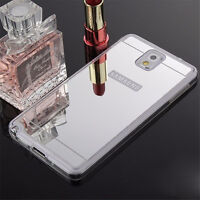 Luxury Ultra-thin Soft Silicone TPU Mirror Case Covers For Samsung Galaxy Phones