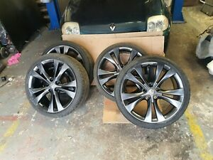 """20"""" Vauxhaull Insignia Alloy Wheels With Tyres 5 Stud 245/35/20  POWEDCOATED"""