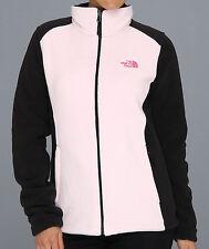 North Face Womens PR Pink Ribbon RDT Fleece Jacket NWT Size XS Coy Pink Black