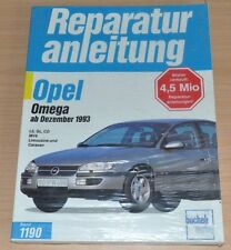 Opel Omega B ab 1993 LS GL CD MV6 Limousine Caravan Reparaturanleitung B1190