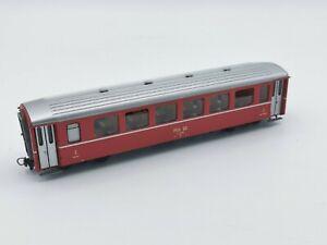 Bemo 3258 H0m 4 Achs Personenwagen RhB B 2458 2.Kl rot NEU/OVP (28)