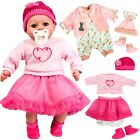 Set Of 2 Baby Doll Clothes, Outfits Suitable For 18
