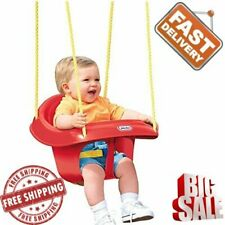 Swing Seat Hanging Chair Toddler Rope Baby Outdoor Garden Yard High Back Kids