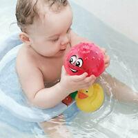 Kid Child Electric Induction Spray Ball Light Bathroom Play Water Bath Toy