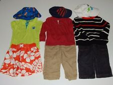 BOY PANTS T-SHIRT SHORTS SWEATER ROCAWEAR CIRCO CHEROKEE HEALTHTEX CARTER`S 12 M