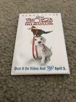 Movie Promotional Pin 102 Dalmatians Blockbuster Video & DVD Release Disney 2001