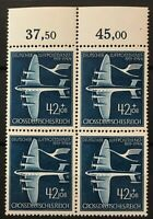 GERMANY Block of four 1944 Airmail  # 868 MNH