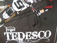 *IVAN TEDESCO*SIGNED*AUTOGRAPHED*POSTER*HART AND HUNTINGTON*#9