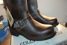 NIB Frye Engineer 12 R-WS 10.5 med $398 Boots Mens Chocolate Brown Made IN USA