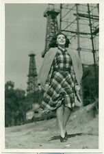 ANN RUTHERFORD Orig 1930s MGM Photo Willinger Photographer Oil Field