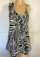 Express Strapless Top Animal Print Size Medium