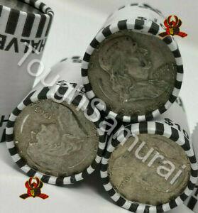 ✯ Benjamin Franklin ENDER 90% Silver - Sealed Half Dollar Rolls Coin RARE ✯