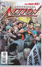 Action Comics Superman # 3 Grant Morrison 1st print Dc new 52 Comics