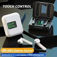 Bluetooth 5.0 Wireless Headphones TWS Earphones Mini In-Ear Pods For IOS Android