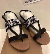 UGG Ladies Verona Serape Beads Sandals Size US 8 UK 6.5 1011005 W  NEW! $120.00