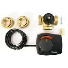 ESBE 3-Wege-Mischer mit Stellmotor 230V Heizungsmischer Umschaltventil Dreiwege