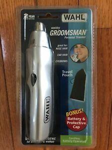 Wahl WET/DRY Groomsman Personal Trimmer Model 5560-500S
