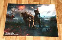 Elder Scrolls Online Morrowind / Prey Rare double sided Poster 80x58cm