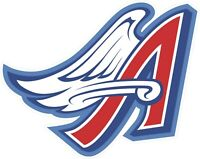 Los Angeles Angels of Anaheim Vinyl Decal - You Choose Size