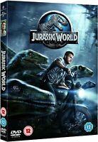 Jurassic World [DVD] Chris Pratt Cert 12 - Trusted Seller - Free Postage