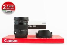 Sigma 17-70mm f 2.8-4 DC OS HSM Macro C Canon  + 2 ANNI DI GARANZIA  - 2 YEAR...