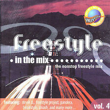 freestyle in the mix ( the nonstop freestyle mix ) volume 4  (UK IMPORT)  CD NEW