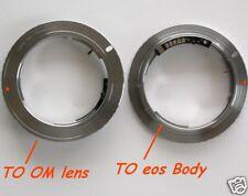 Canon EOS adattatore con MICROCHIP per ottiche Olympus OM - ID 2604