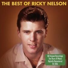 Ricky Nelson Best Of 2-CD NEW SEALED Hello Mary Lou/Travelin' Man/It's Late+