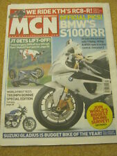 MCN - MOTORCYCLE NEWS - JT GETS LIFT OFF - 11 Feb 2009