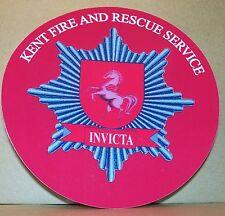 Fire and Rescue Service Kent  vinyl sticker.