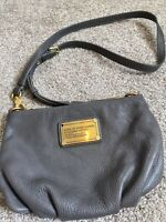 Vintage Marc By Marc Jacobs Pale Gray Leather Crossbody