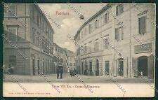 Ancona Fabriano Banca Farmacia PIEGHINA cartolina QQ1082