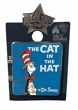 Universal Studios Dr. Seuss Cat in the Hat Book Trading Pin