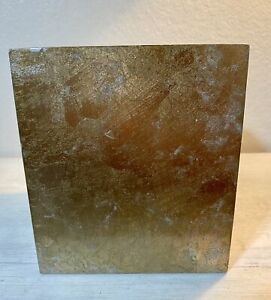 Hollywood Regency Style Lucite Gold Marbled Tissue Box Cover Bed Bath & Beyond