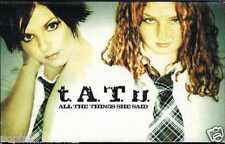 t.A.T.u. - ALL THE THINGS SHE SAID 2002 EU CASSINGLE CARD SLEEVE SLIP-CASE TATU