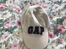 GAP Boys Hat Baseball Cap Navy Blue Floral Hawaiian Print Flat Visor Sun S//M
