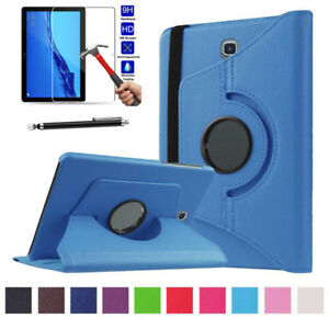 Premium 360 Rotating Leather Case Cover Folio Stand For Huawei MediaPad T5 10.1