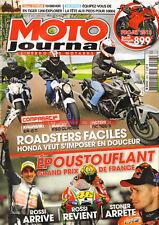 MOTO JOURNAL 2003 HONDA NC 700 S SUZUKI 650 Gladuis GSX-R 1000 KAWASAKI ER-6
