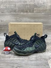 Nike Air Foamposite Pro Penny Foam Pine Green Black White Size 11.5 624041-301