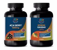 metabolism for weight gain - ACAI BERRY – KOREAN GINSENG COMBO 2B - ginseng caps