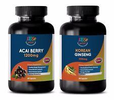 metabolism gain weight - ACAI BERRY – KOREAN GINSENG COMBO 2B - ginseng liquid